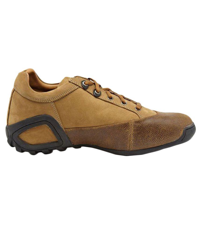 Woodland 549108 Lifestyle Camel Casual Shoes ...