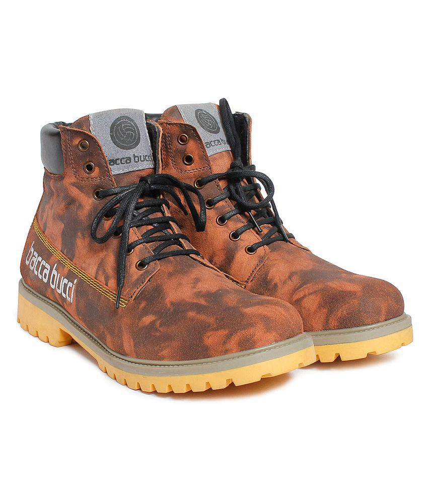 Bacca Bucci Brown Casual Boot