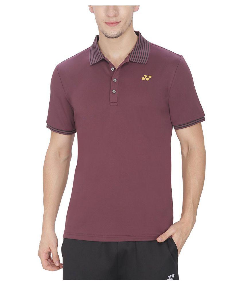 Yonex Badminton T-shirts - Violet