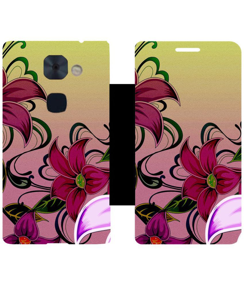 LeEco Le2 Flip Cover by Skintice - Multi