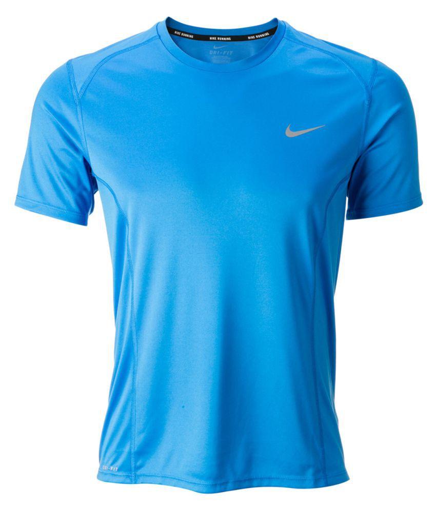 Nike Men's Running T-Shirt - Blue