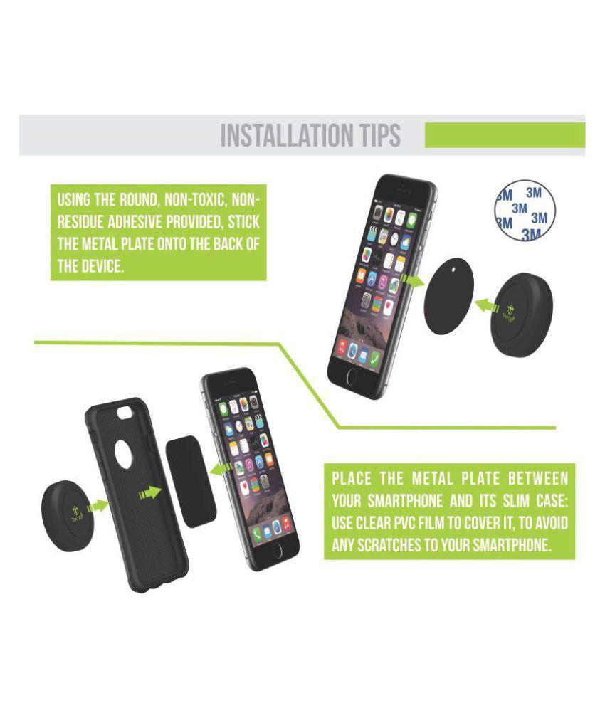 Tantra Car Mobile Holder Magnetic 600 for Air Vent - Black: Buy ...