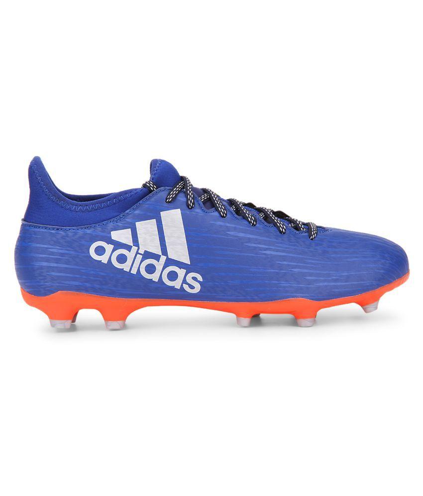 b3b7a2d3655f Adidas X 16.3 FG Blue Football Shoes - Buy Adidas X 16.3 FG Blue ...