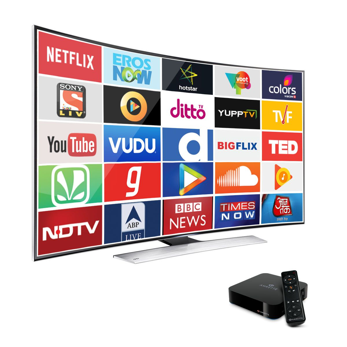buy amkette evo tv 2 4k streaming media players online at best price in india snapdeal. Black Bedroom Furniture Sets. Home Design Ideas