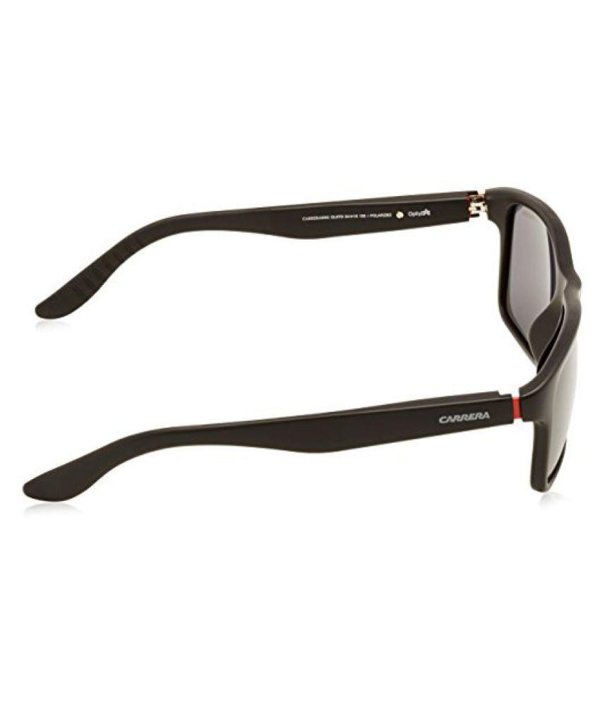 a55679c24bf ... Carrera 8002 S Sunglasses CA8002S-0DL5-TD-5418 - Matte Black Frame Gray  ...