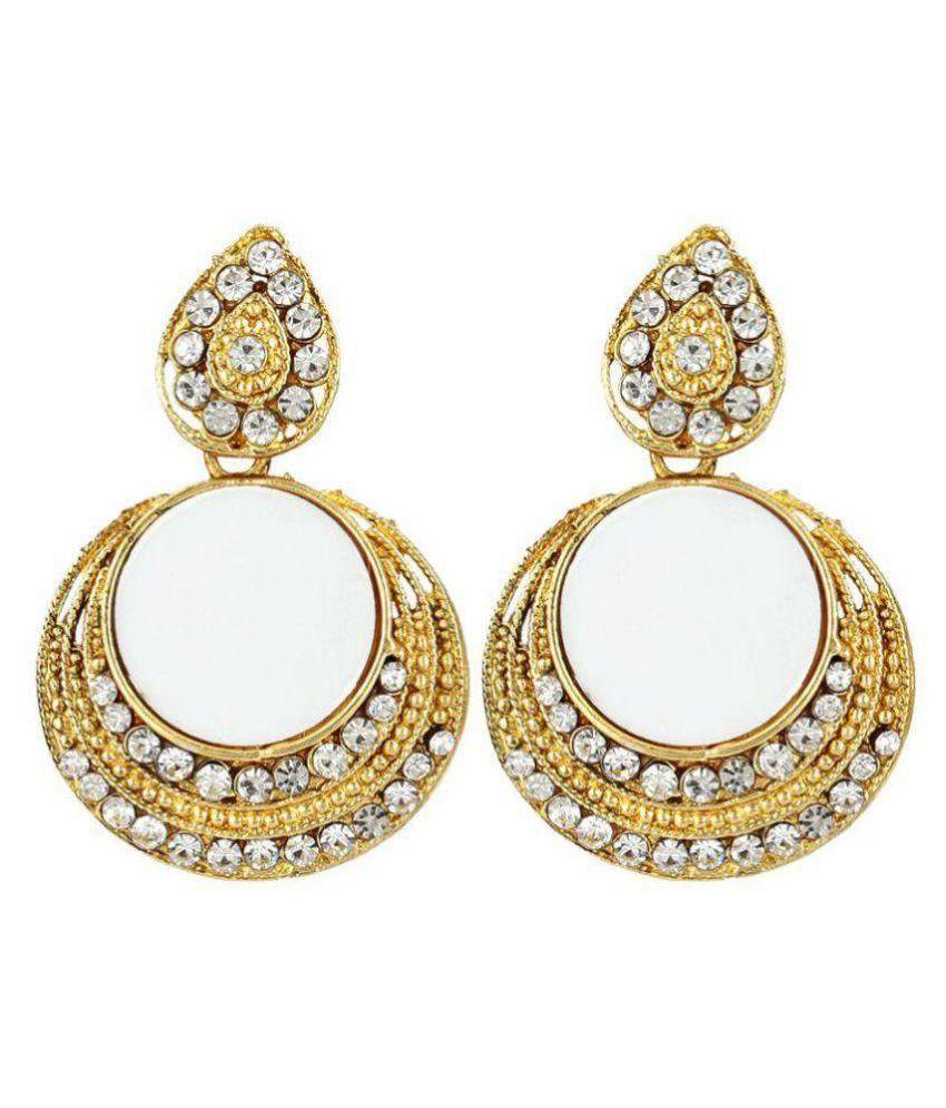 Jewels Gehna Golden Hangings
