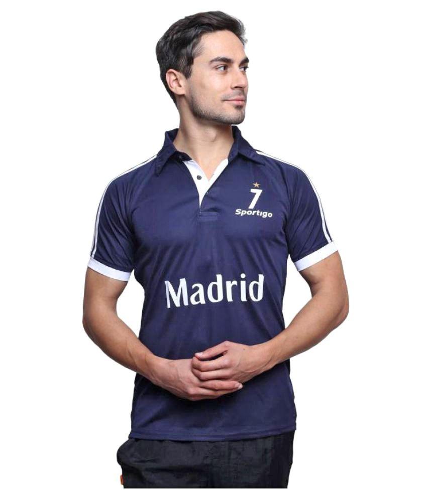 Sportigo Replica Real Madrid Jersey (Blue)