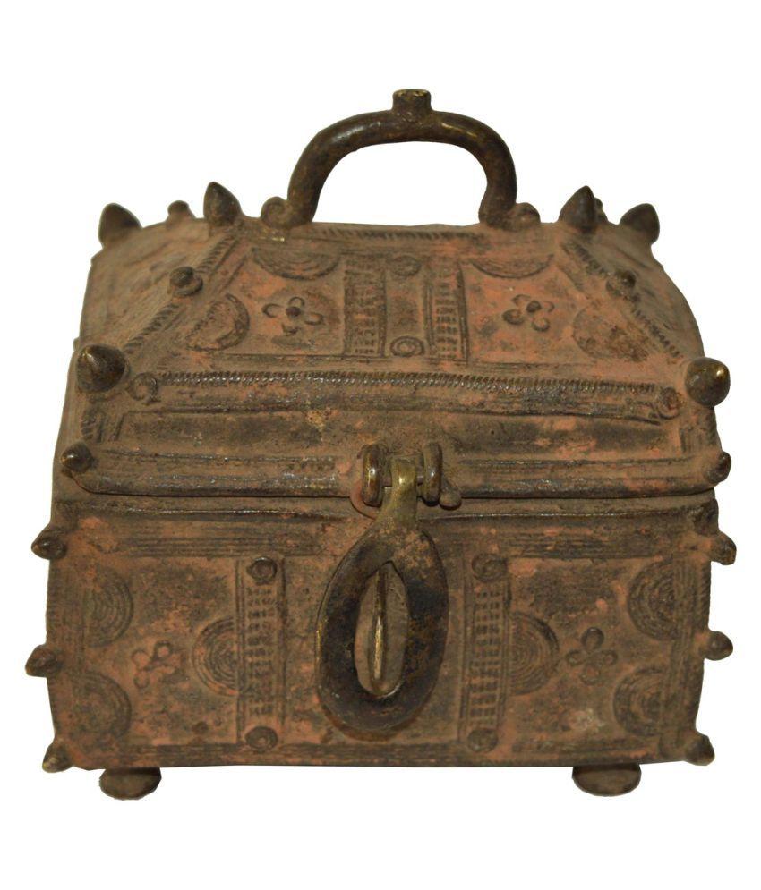 Bronze Real Antique  Sandook Box