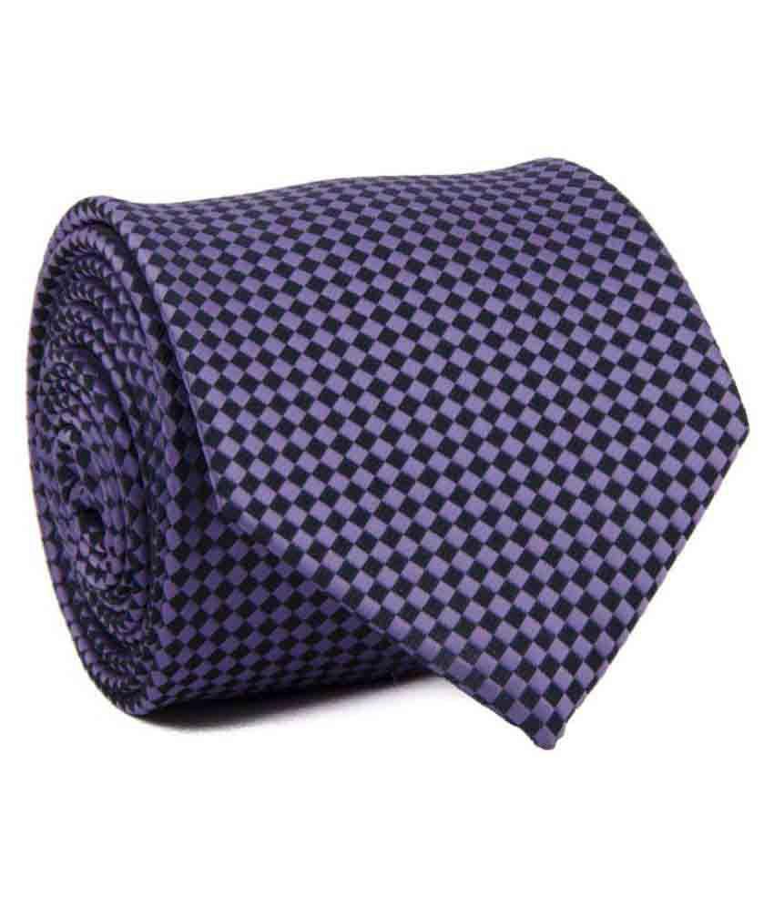 Cazzano Purple Formal Necktie
