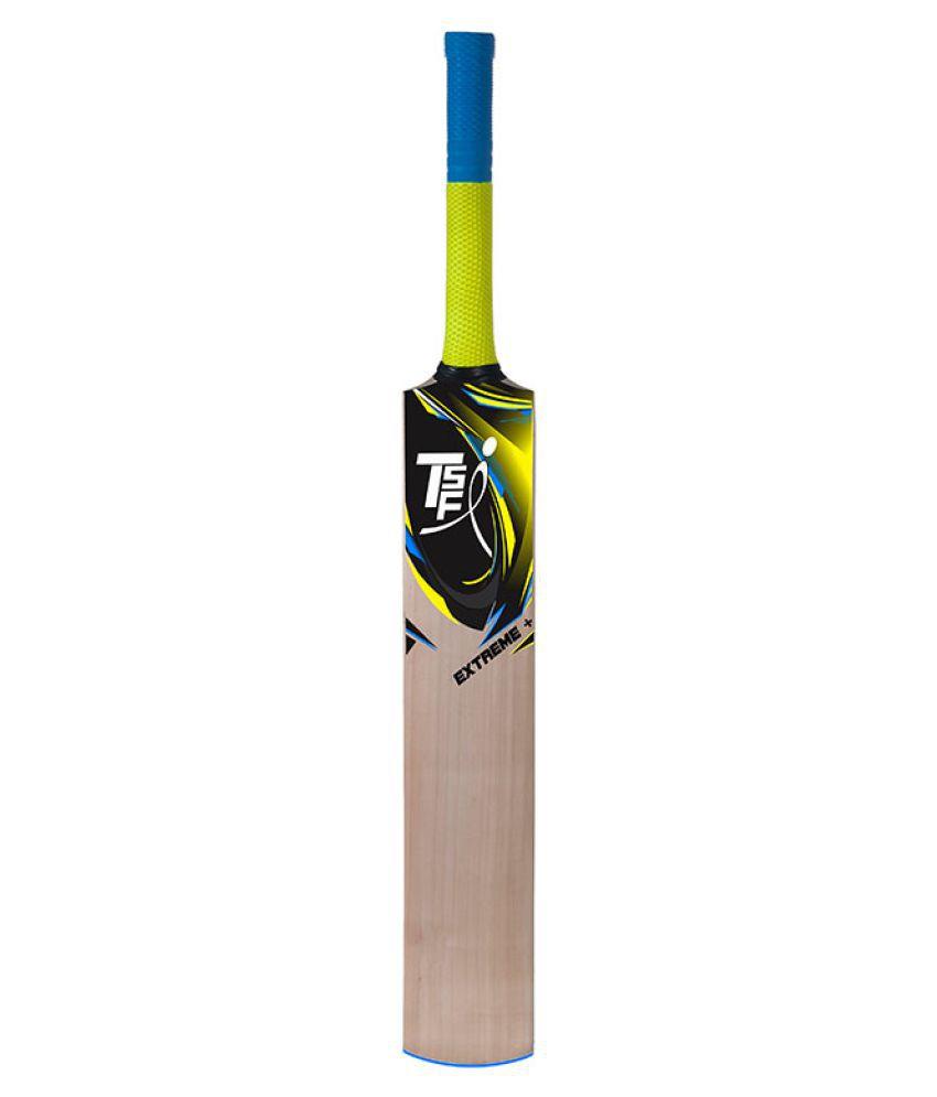 TSFI Kashmir Willow Cricket Bat (EXTREME+)