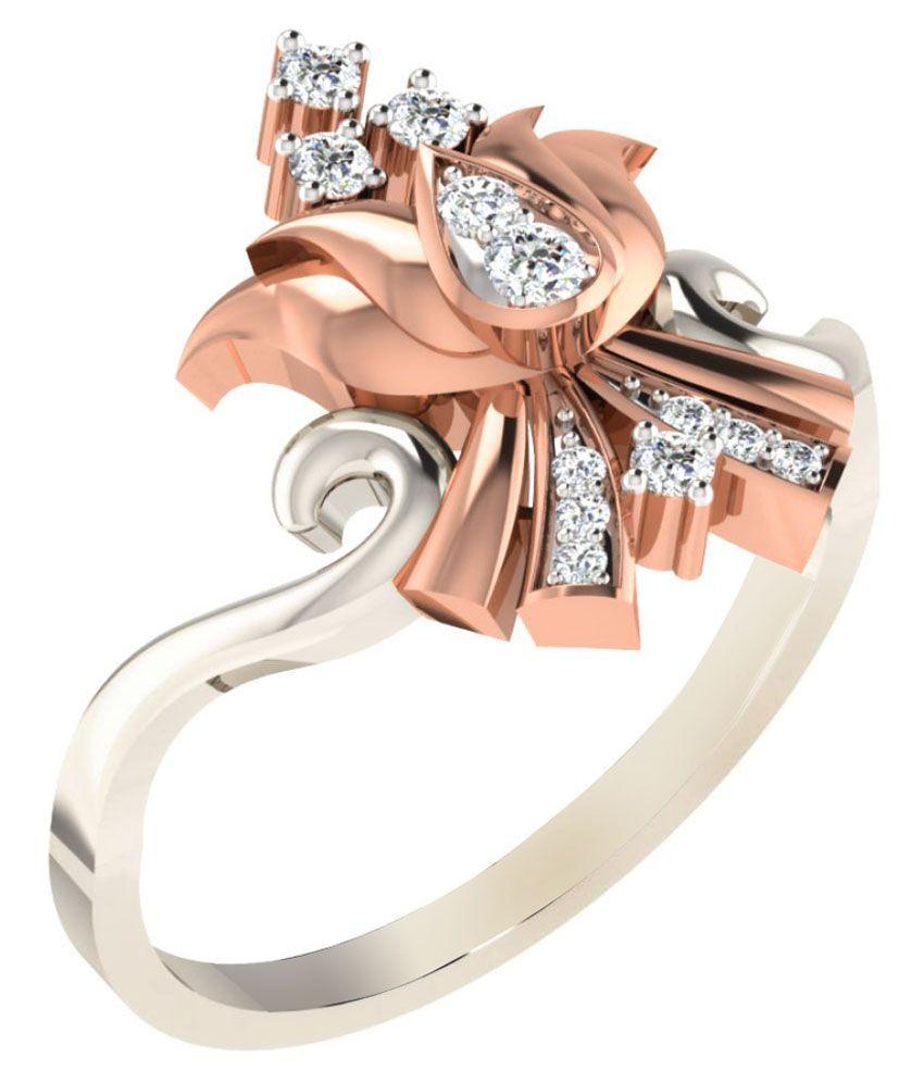 Tanaché 18k White Gold Diamond Ring