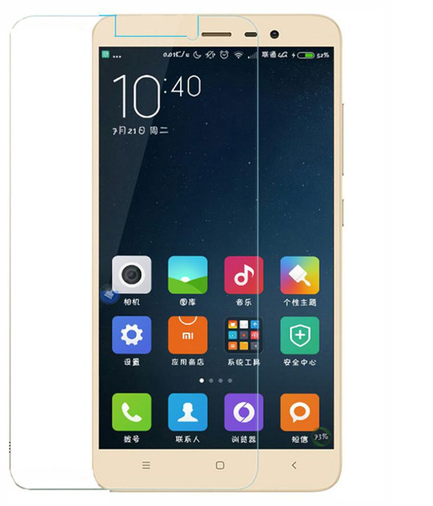 Xiaomi Redmi Note 3 Tempered Glass Screen Guard By BIZBEEtech
