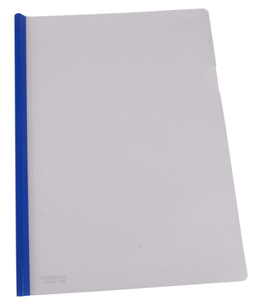 DataKing Blue Polypropylene Stick File With Round Stick Set Of 20