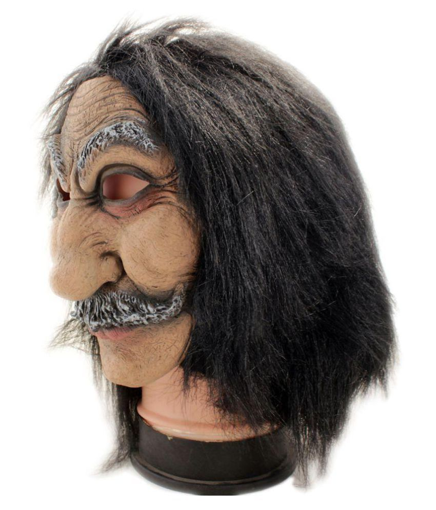 Realistic Scary Halloween Masks.Tootpado Realistic Latex Rubber Adult Old Man Face Mask Horror