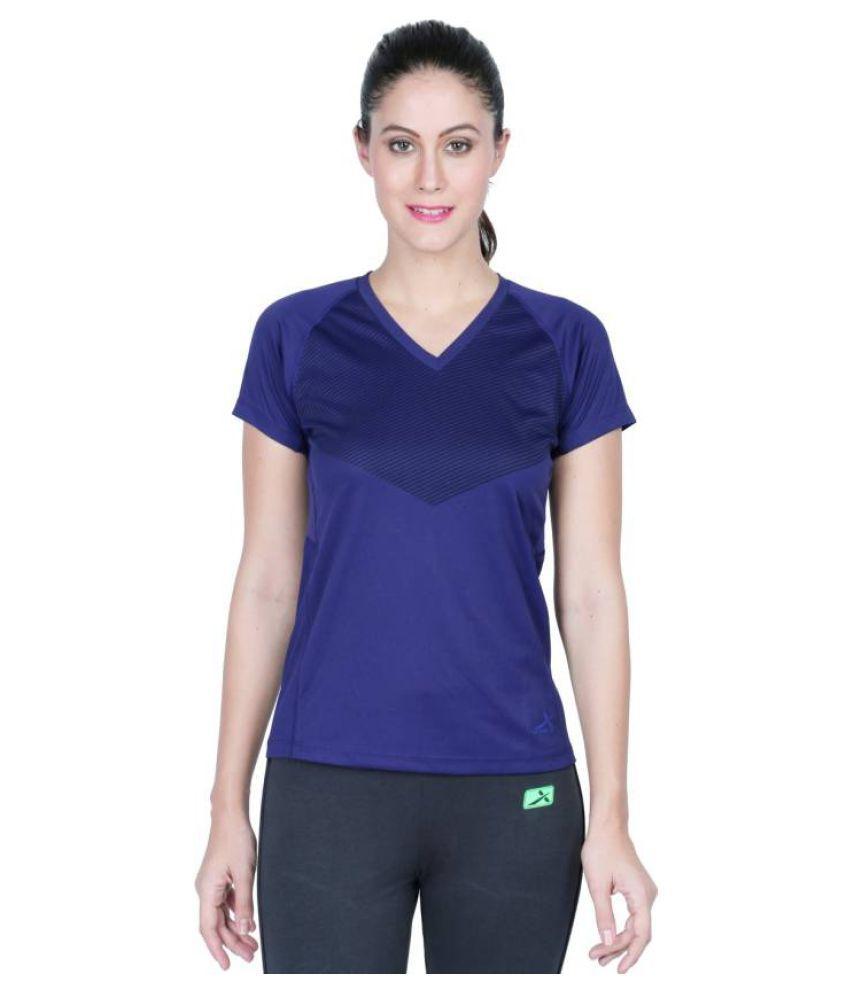Vector X Dark Blue V-Neck T-Shirt