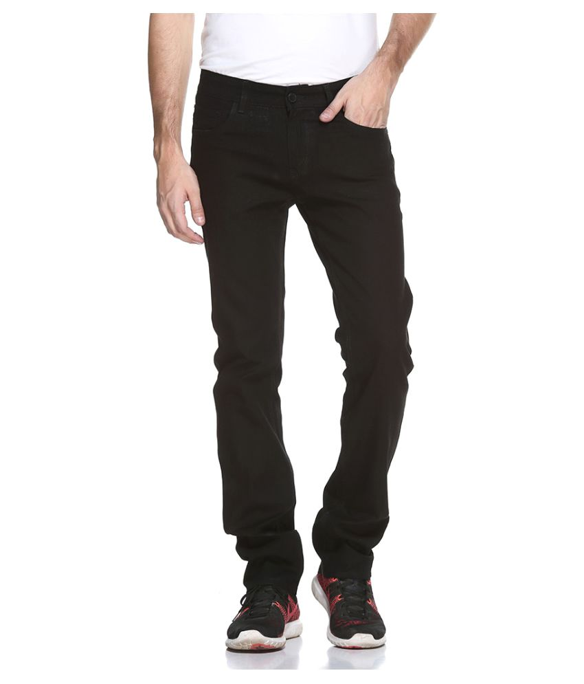 Octave Black Regular Fit Jeans