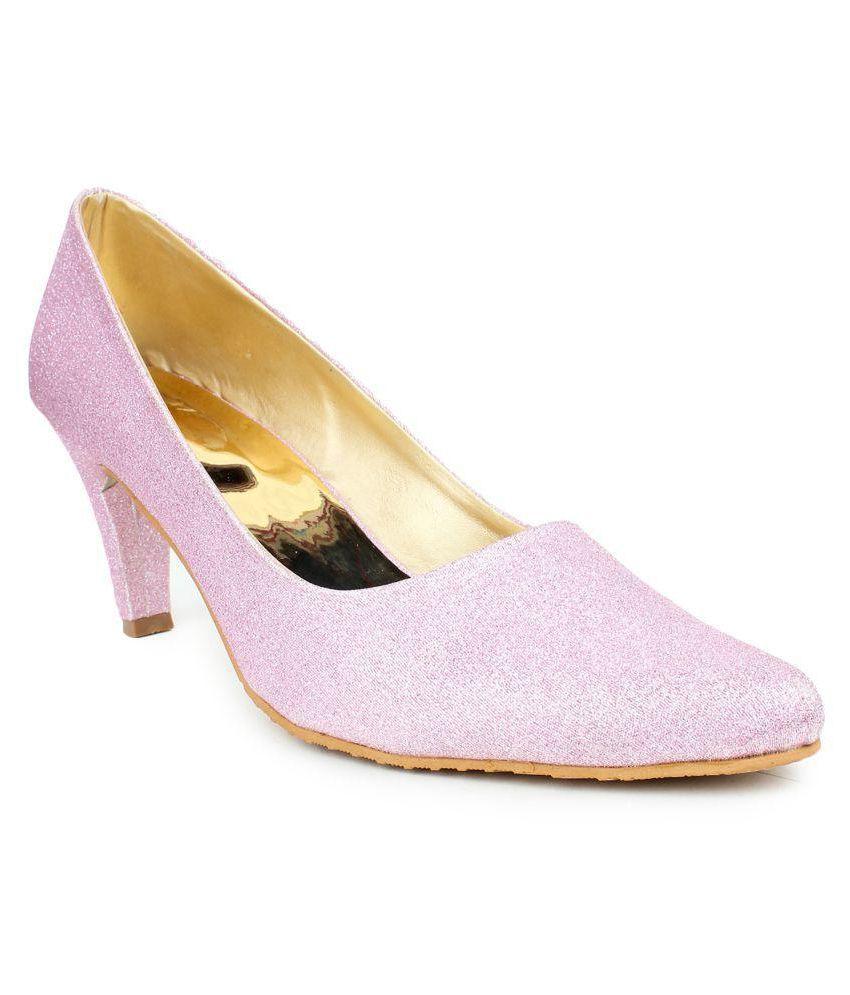 London Steps Pink Stiletto Heels
