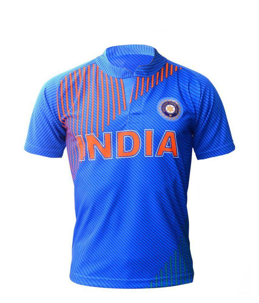 Navex Blue Polyester Sports Jersey