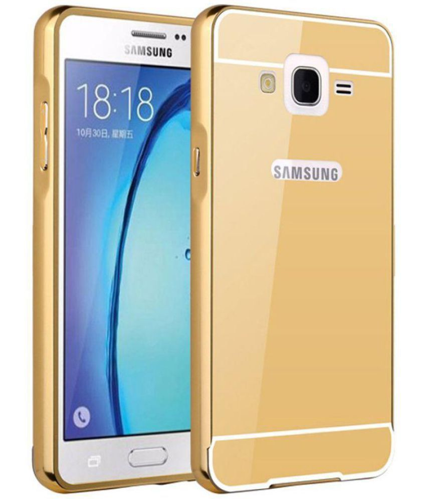Samsung Galaxy J2 (2016) Mirror Back Covers Champion - Golden