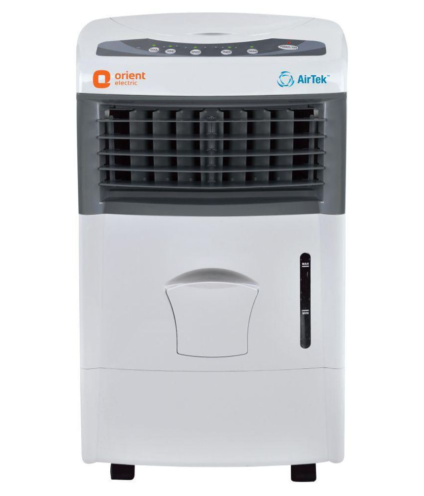 Orient Airtek Atkts60Sp Portable Air Cooler White-Grey With Remote
