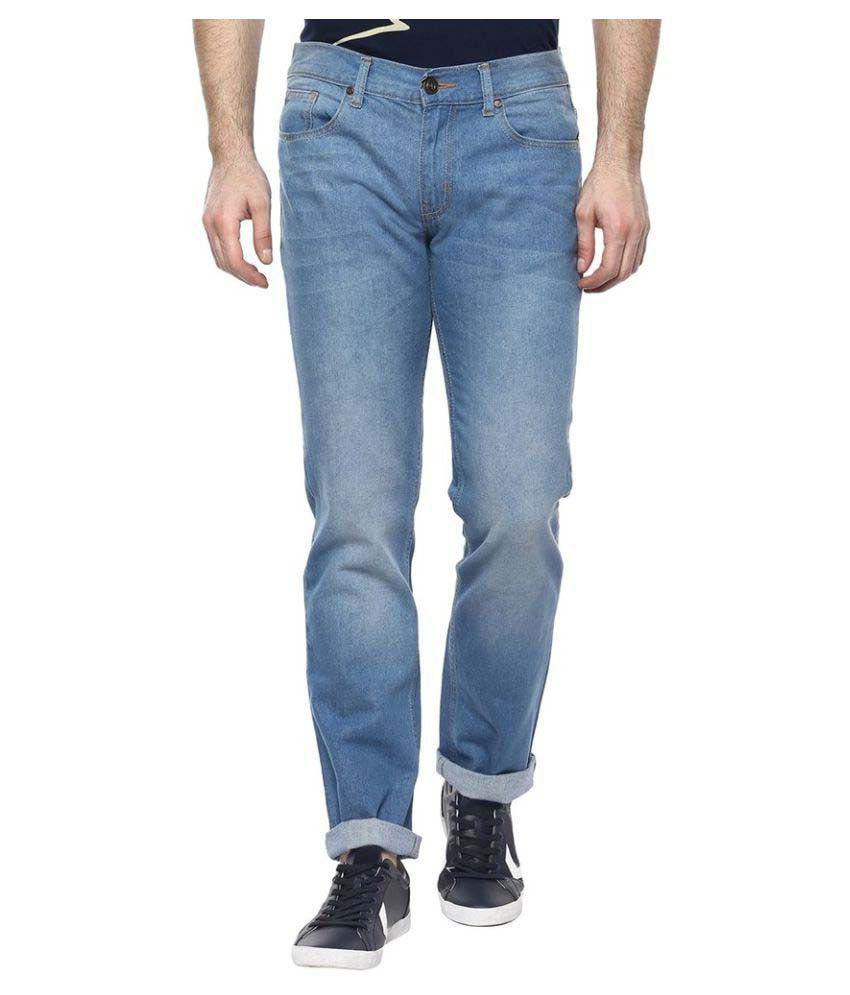 CR8 Light Blue Slim Jeans