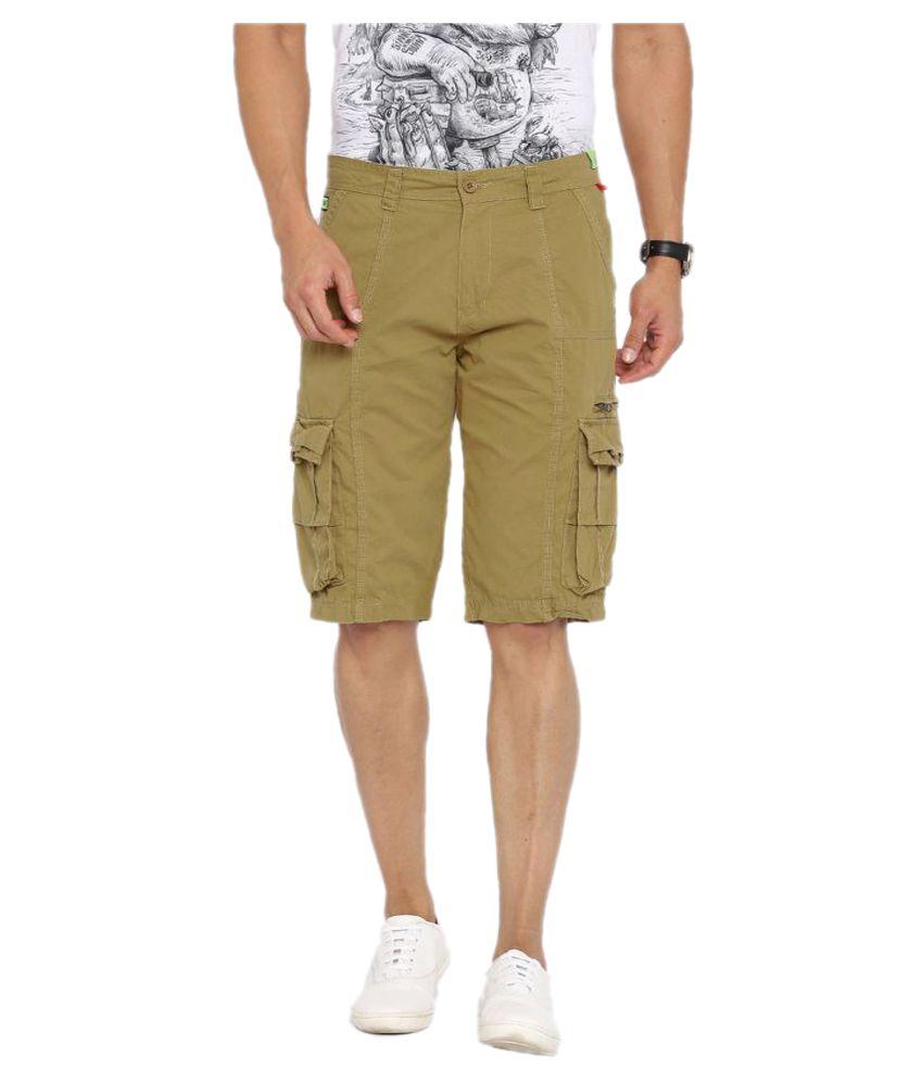 Fifty Two Khaki Shorts