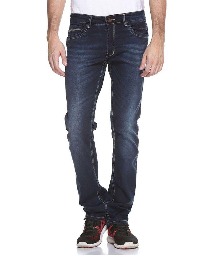 Octave Blue Regular Fit Jeans
