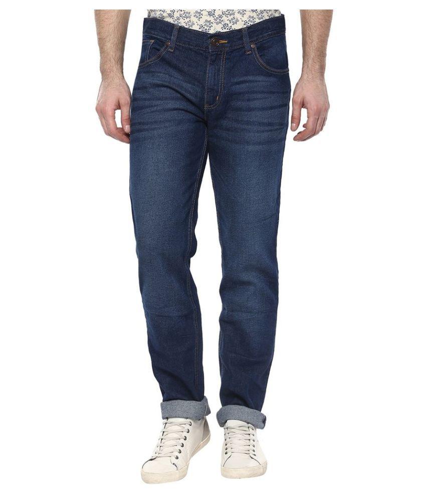 CR8 Dark Blue Slim Jeans