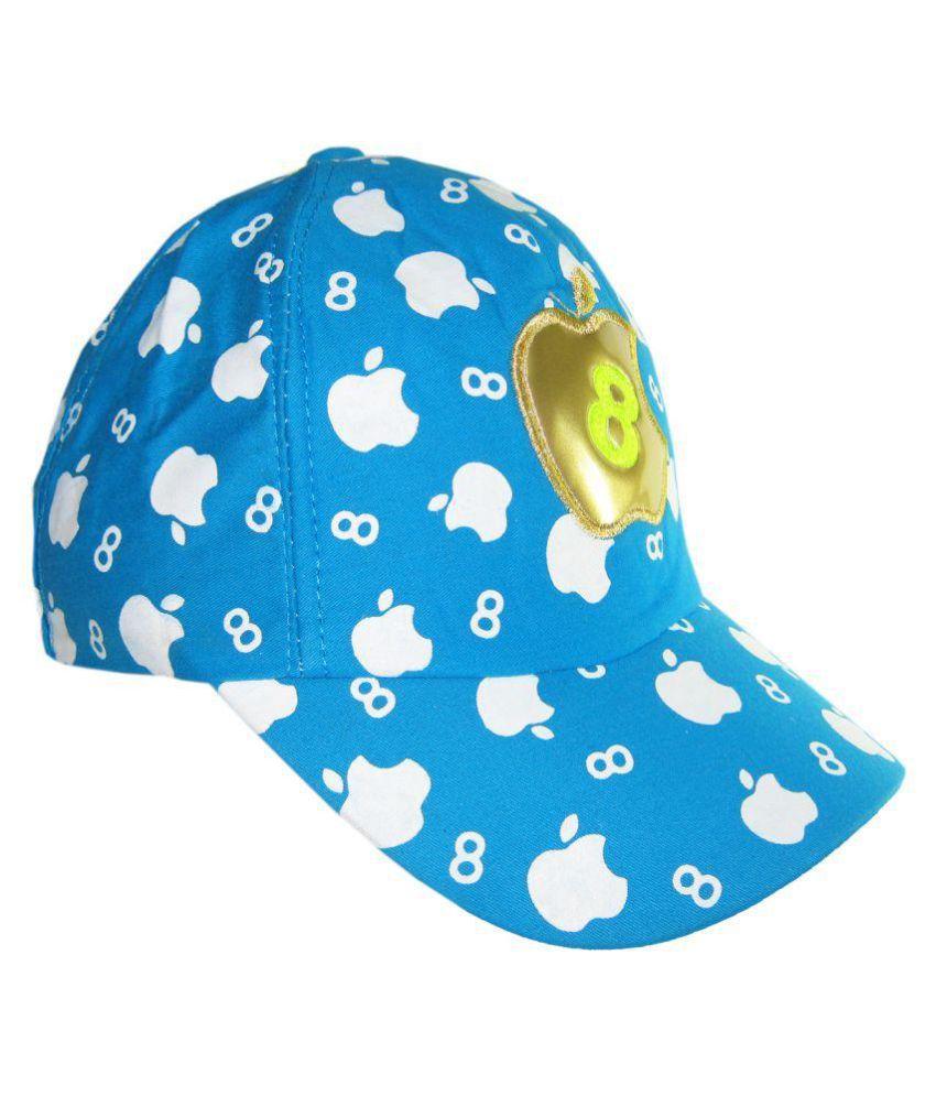 Goodluck Blue Cotton Cap