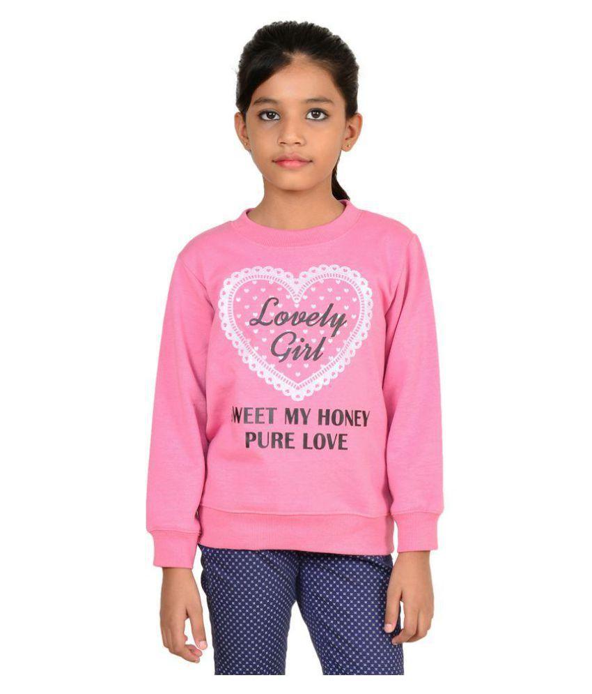 Wardtrobe Pink Sweatshirt