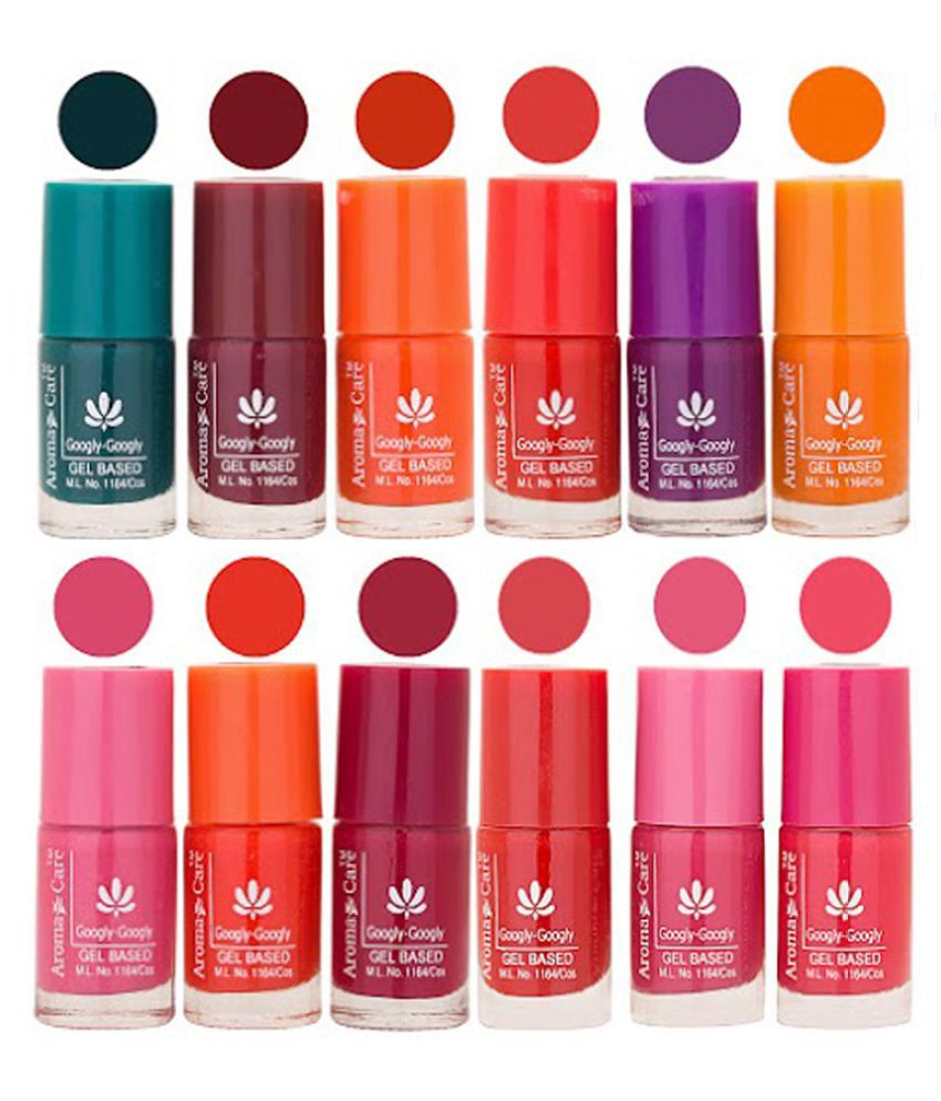 Aroma Care Nail Polish Multicolor Matte 72 ml