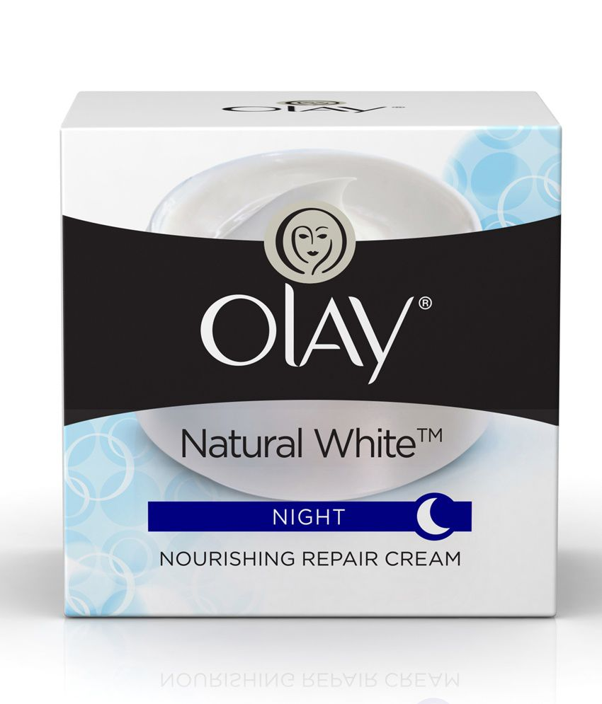 olay natural white all in one fairness night skin cream 50 gm buy
