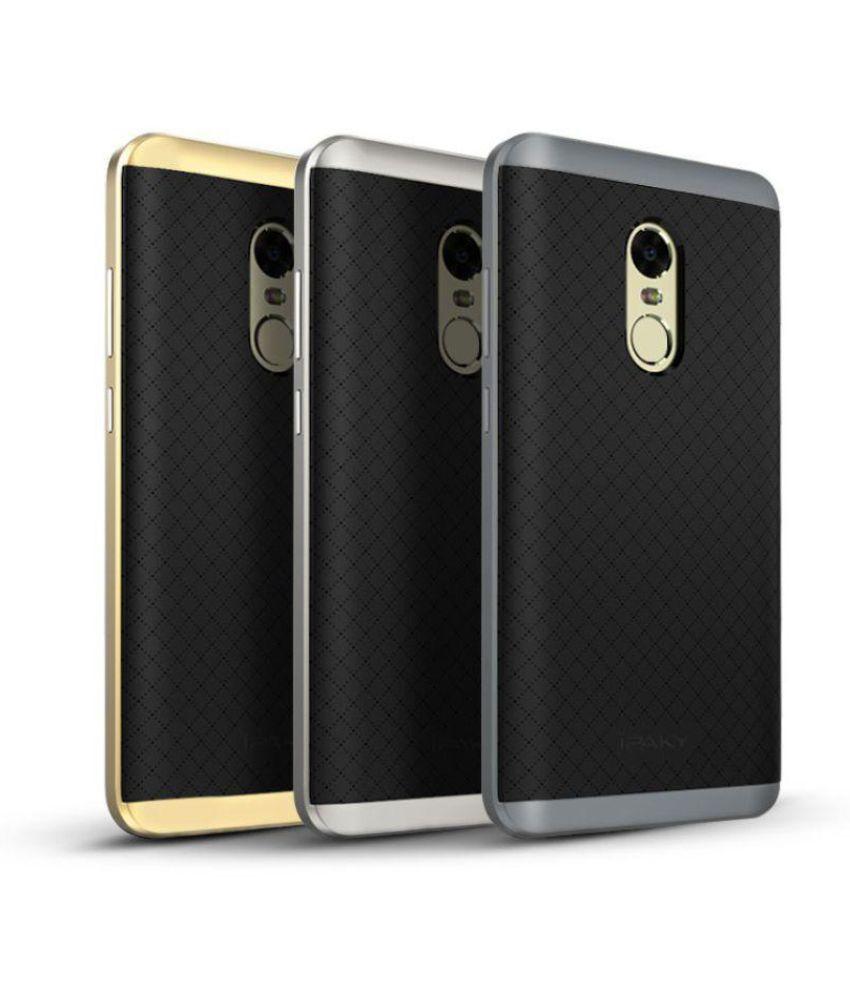official photos 7d4e4 b1576 Xiaomi Redmi Note 4 Shock Proof Case IPaky - Golden