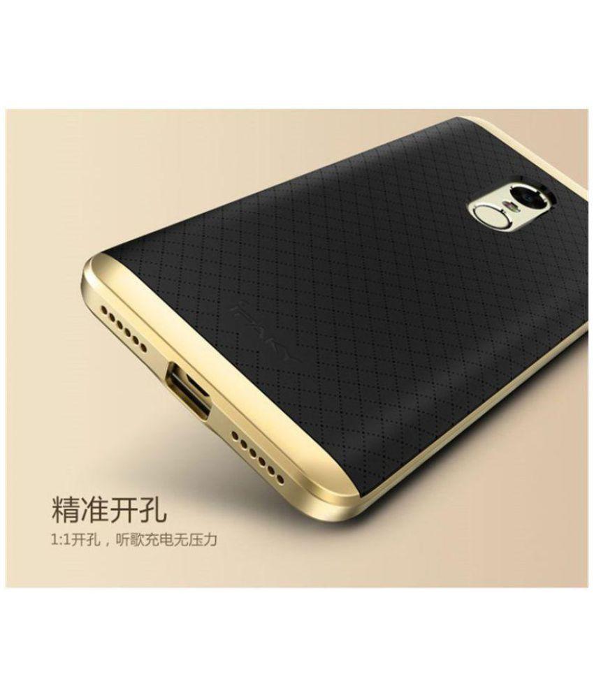 official photos 06a49 135f7 Xiaomi Redmi Note 4 Shock Proof Case IPaky - Golden