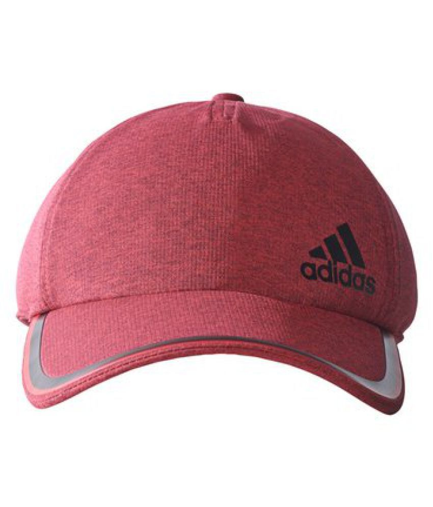 Adidas AY8389OSFM Synthetic Cap, Men's One Size (Red)