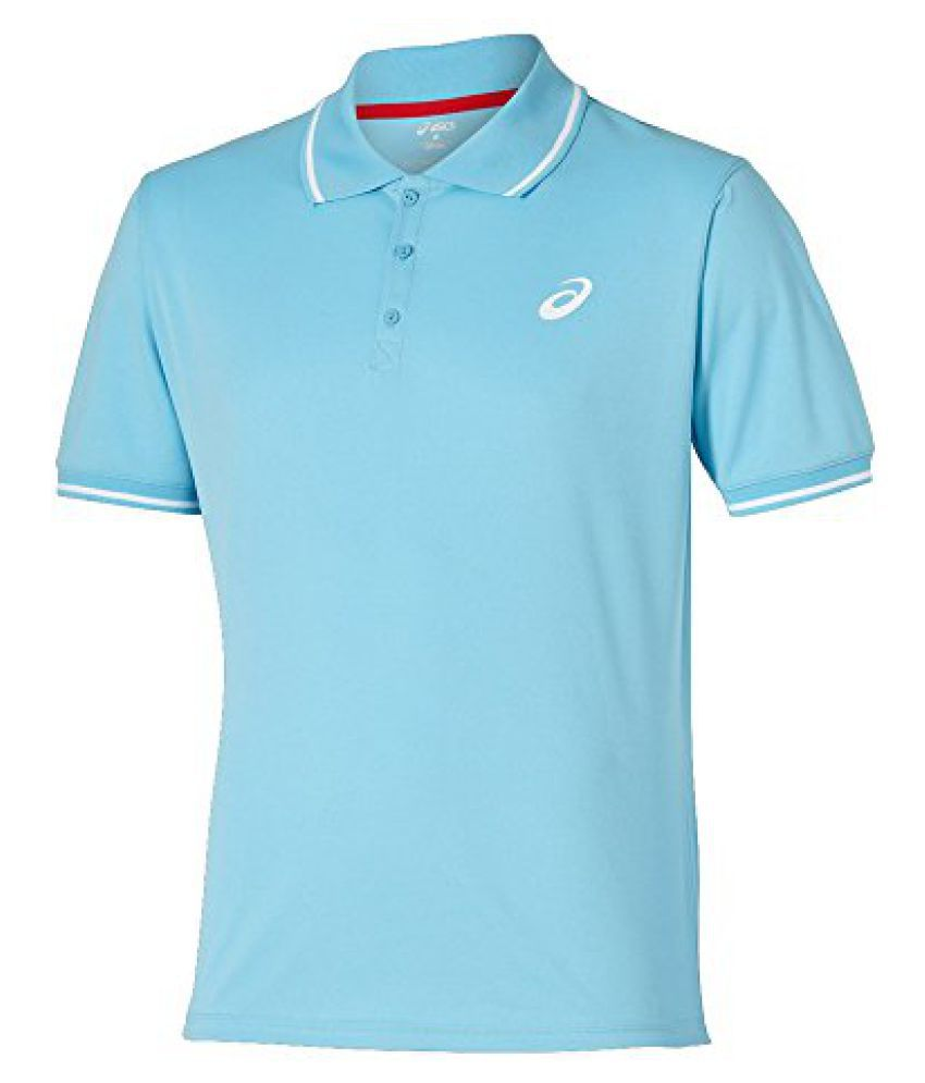 Asics Mens Regular Fit Club Ss Polo Shirt - L