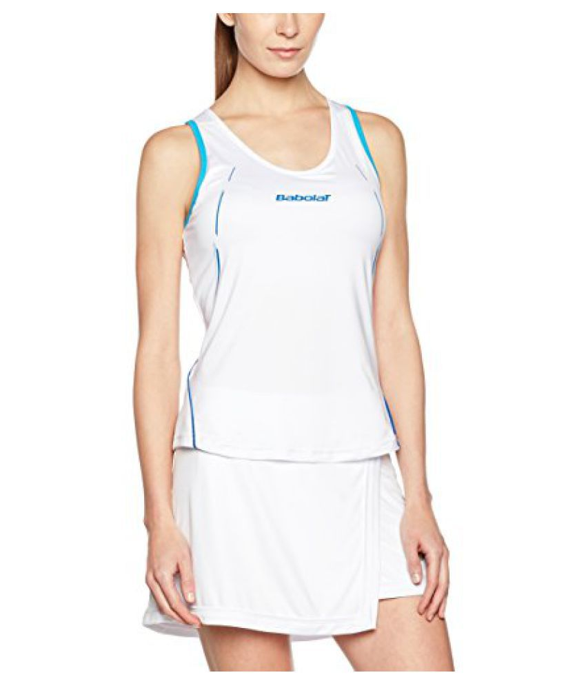 Babolat 41S1423-101 Match Core Tank, Women's (White)