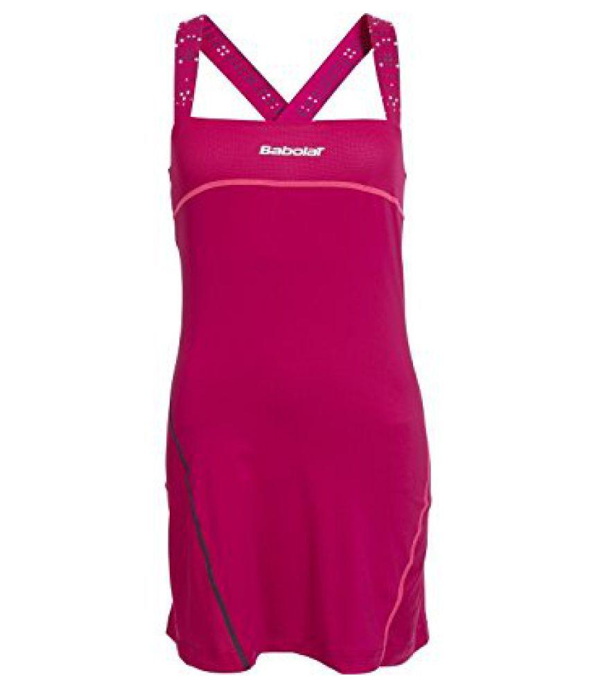 Babolat 41S1519-127 Perf Match Tennis Dress, Women's Medium (Red Cherry)