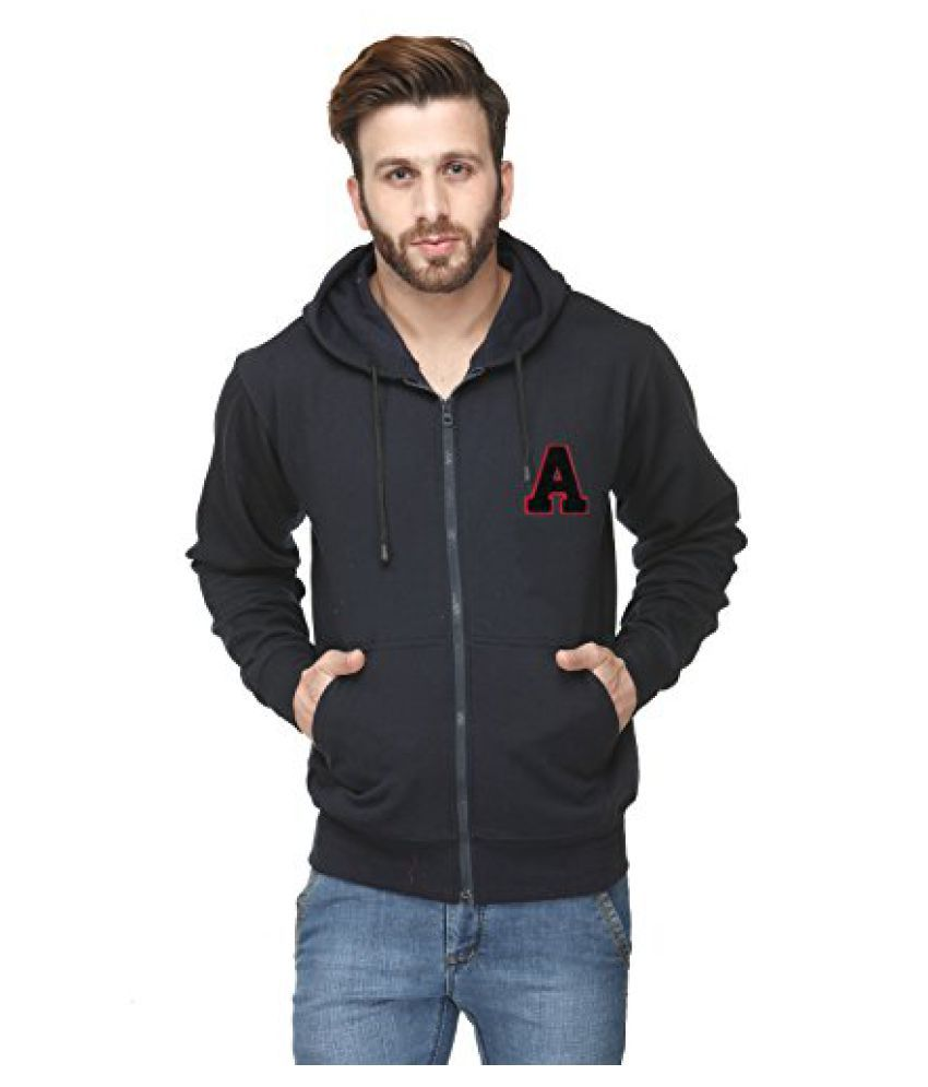 Cotton Casual Comfort Styled Hooded Men Sweatshirt
