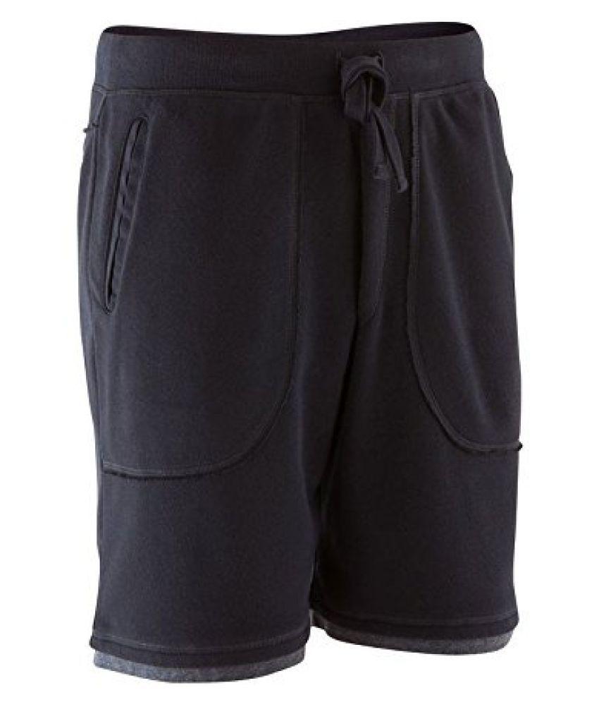 Domyos Men Brushed Jersey Yoga Shorts