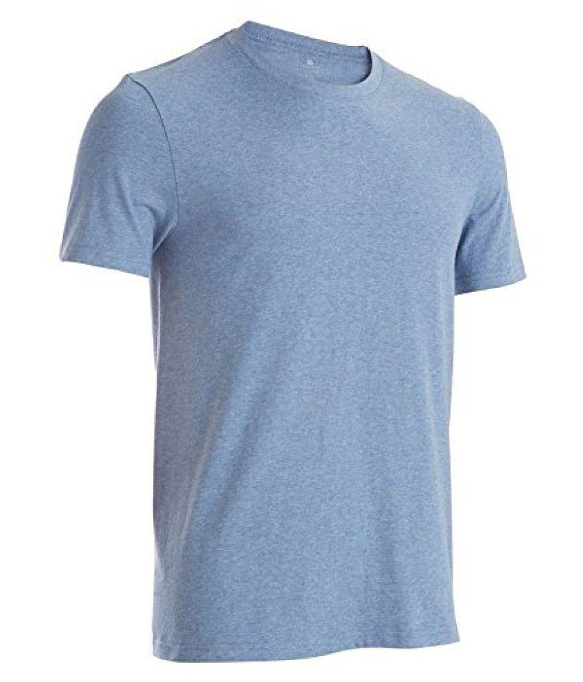 Domyos Soft Gym Yoga Tops Bottoms (Blue)