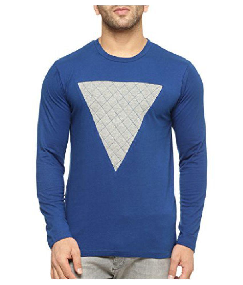 Gritstones Round Neck Full Sleeve T Shirt GSFSTSHT1328INDGM