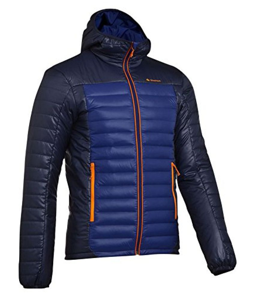 QUECHUA X-LIGHT MENS DOWN JACKET - BLUE