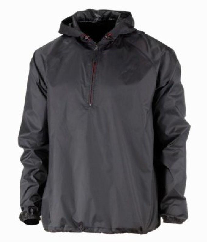 Quechua Rain Cut Jacket, Mens Large (Black)
