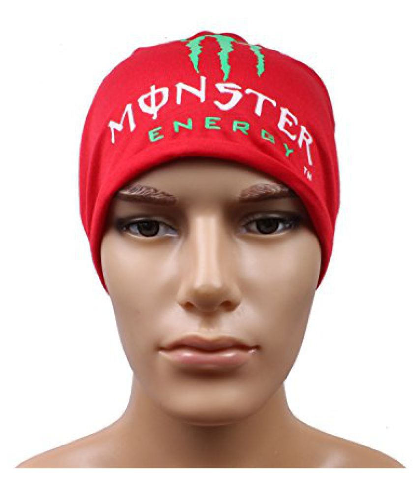 Red Classic Beanies Cap For Men
