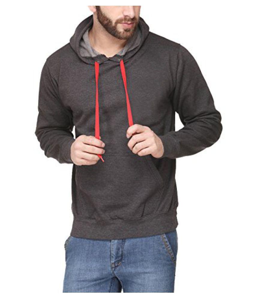 Scott Men's Premium Cotton Pullover Hoodie Sweatshirt - Charcoal
