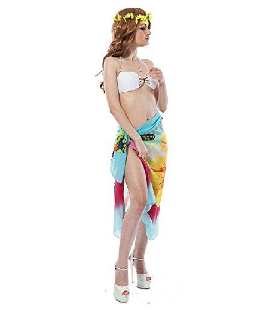 Sky Blue Fashion Beach Sarong, NYB155