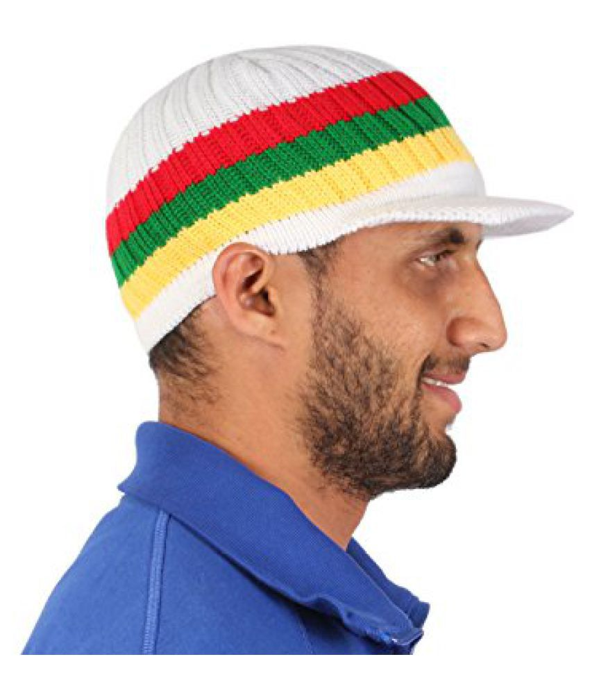 Sushito Teens Multi Colour Woolen Cap