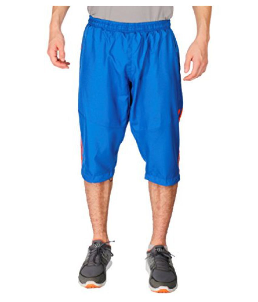 Vector X VC-1600-F Running Capris, (Royal Blue)