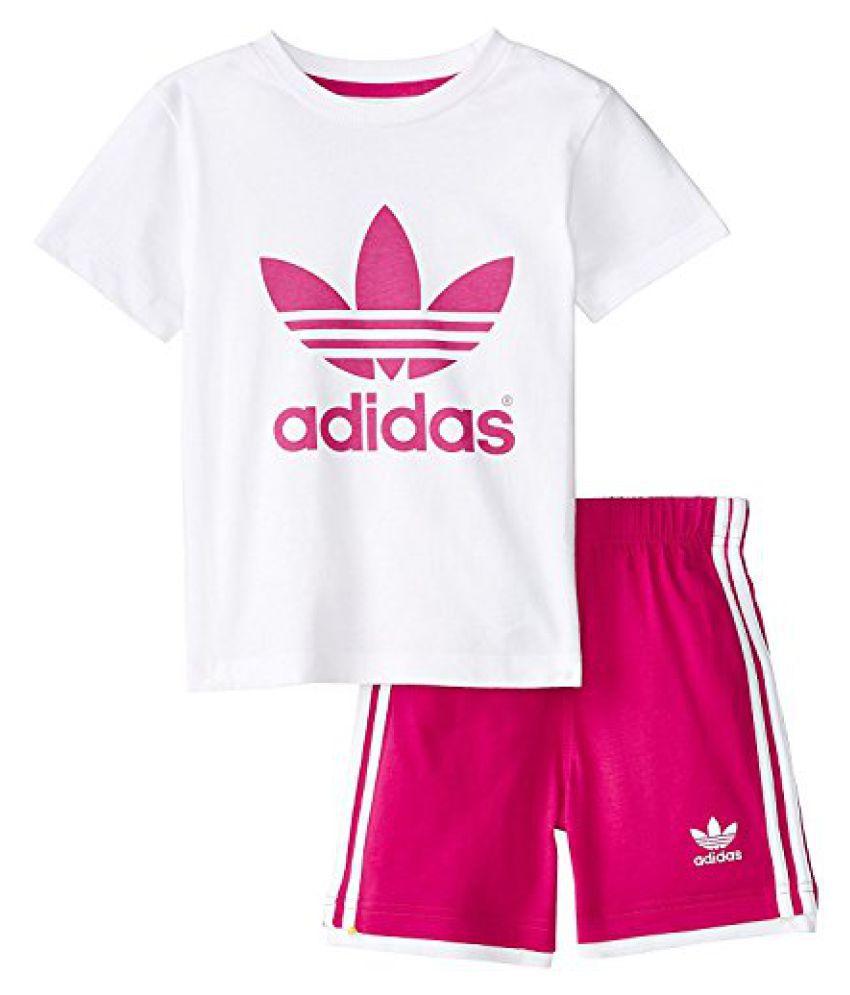 adidas Originals Trefoil Tee and Shorts Set